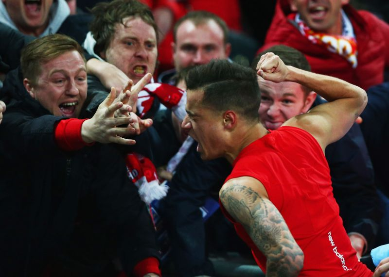 Coutinho was beloved by Liverpool fans during his time at Anfield