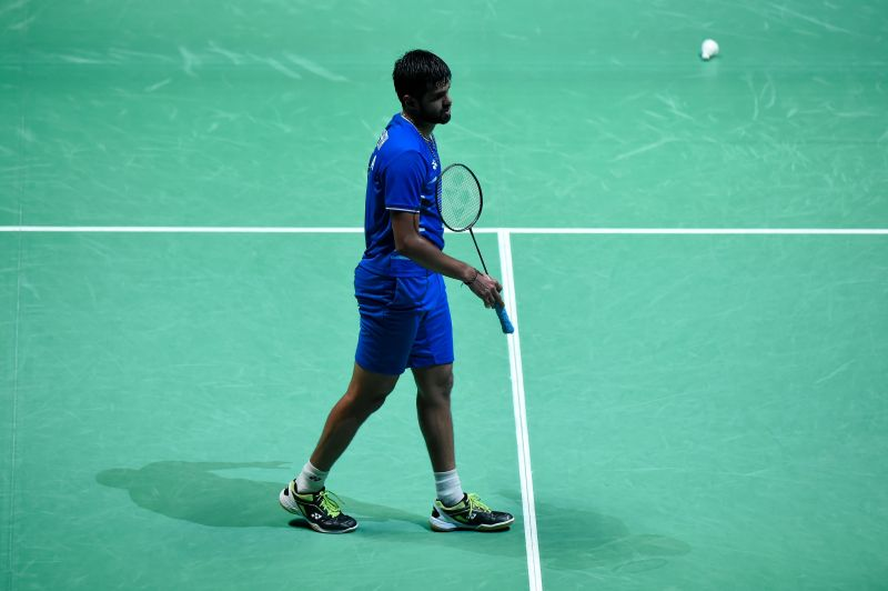 Praneeth is seeded second in this event