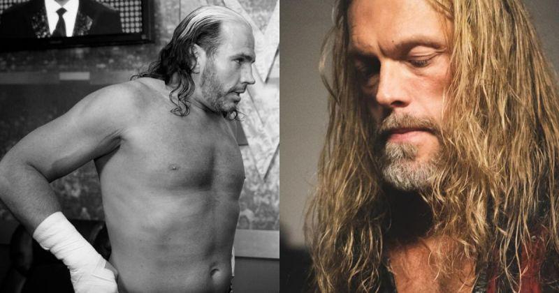 Matt Hardy and Edge.