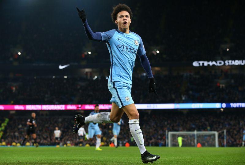 Leroy Sane Makes Manchester City Comeback