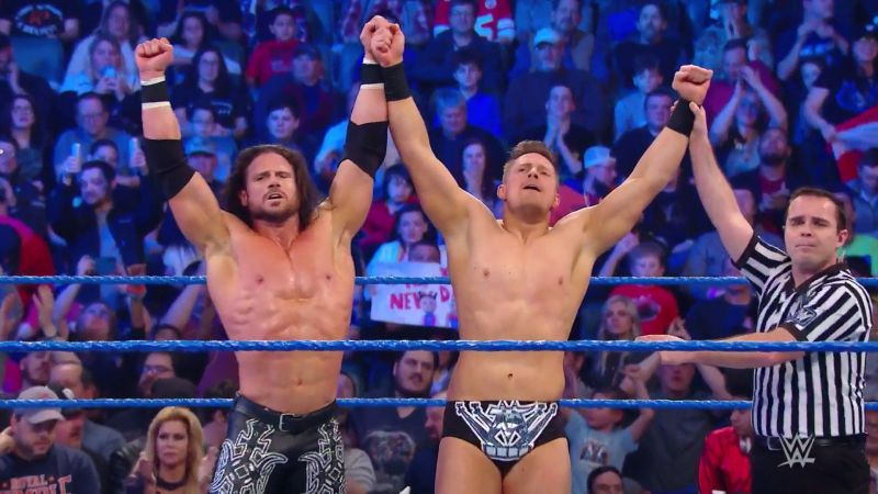 Miz and Morrison will face the New Day for the tag titles soon