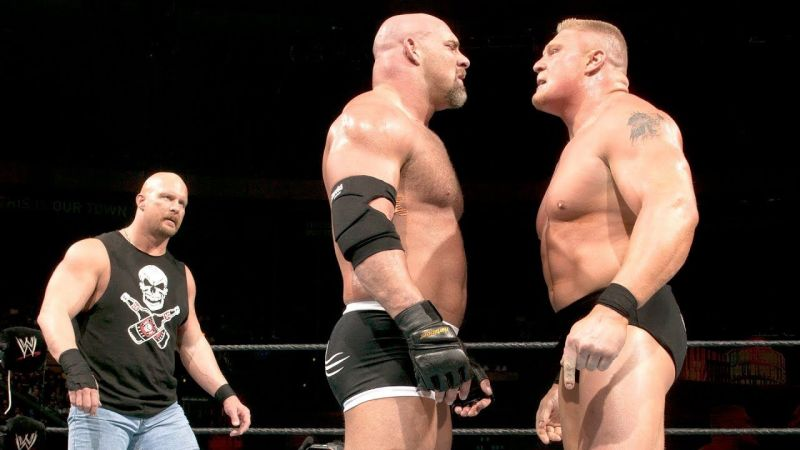 Lesnar vs Goldberg