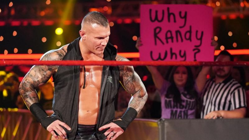 Randy Orton was a big part of tonight