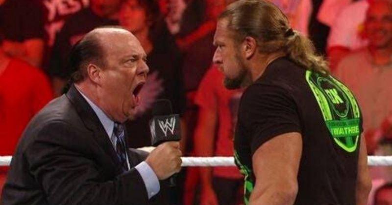 Triple H and Paul Heyman.