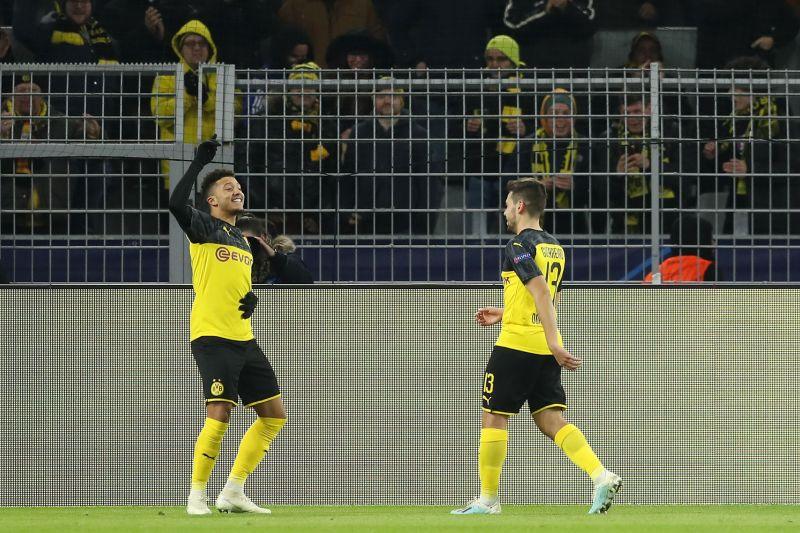 Jadon Sancho has been in great form for Dortmund
