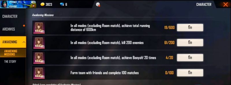List of Missions