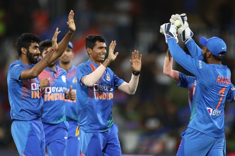 New Zealand v India - T20: Game 5