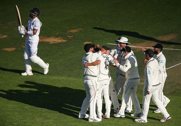 न्यूजीलैंड की मैच में पकड़ मजबूत