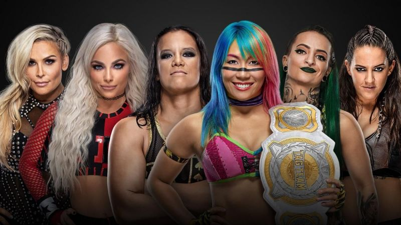 The participants of the Elimination Chamber match