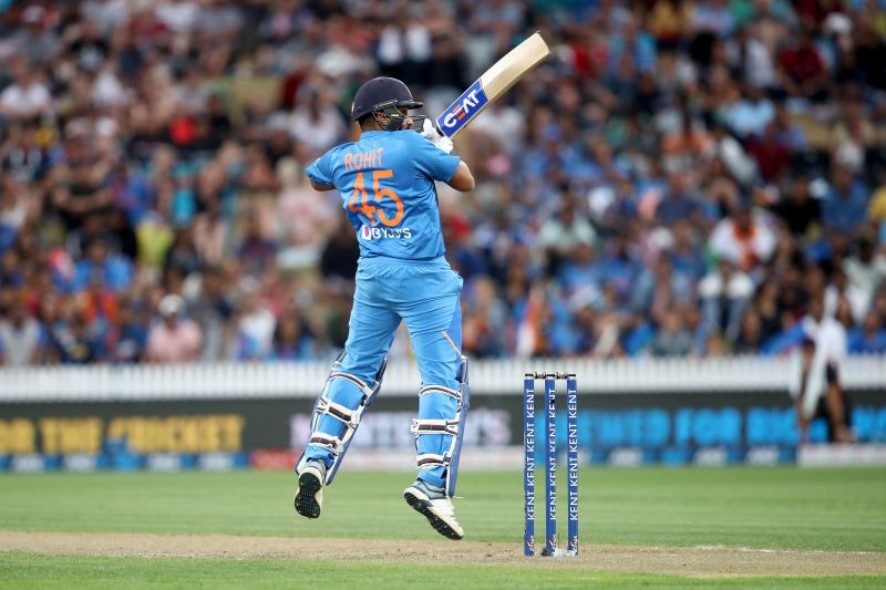 Rohit Sharma was in form against New Zealand in Hamilton