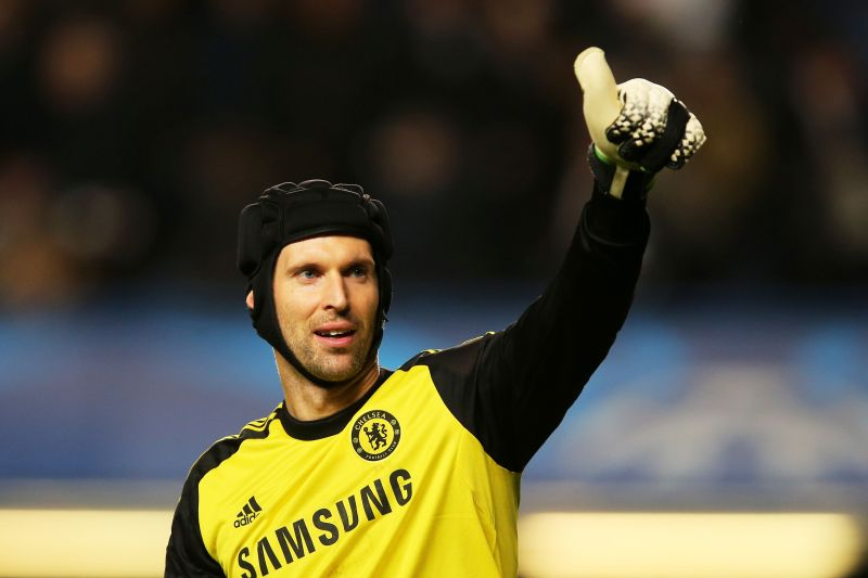 Petr Cech conceded just 15 goals in 2004-05