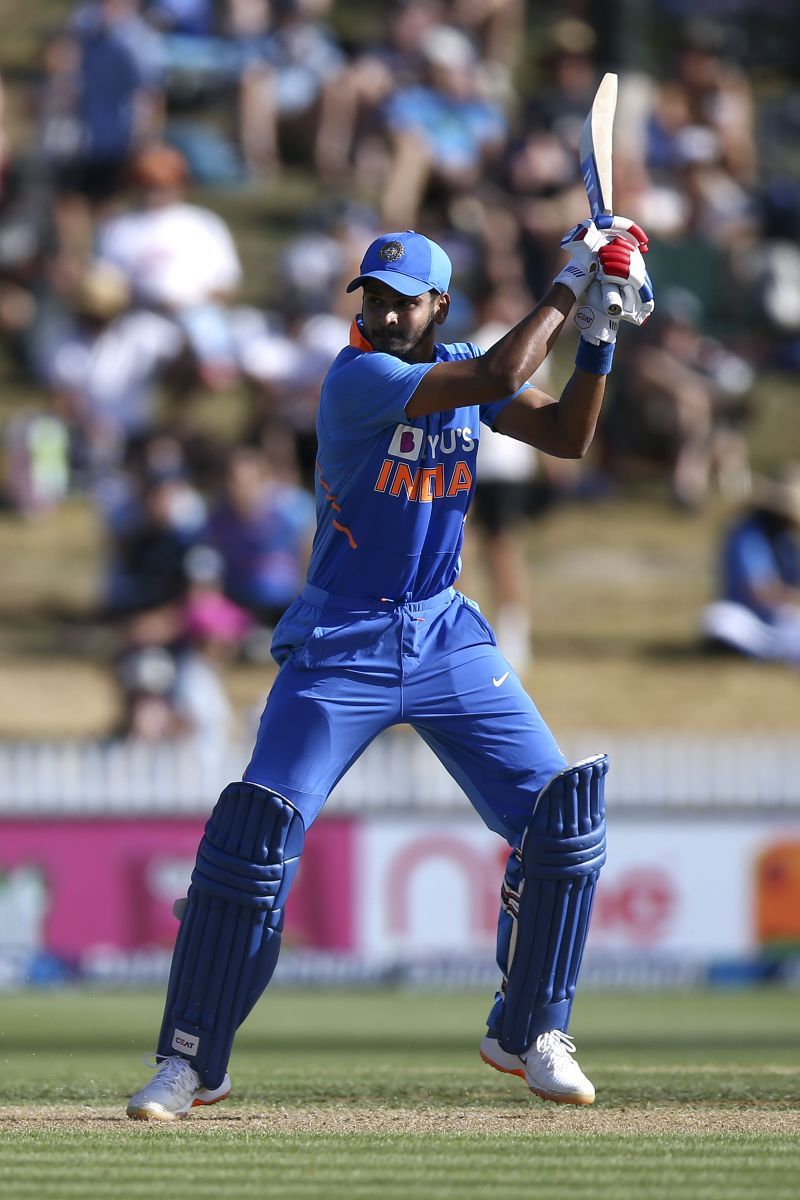 Iyer has shown signs that he can handle pressure situations