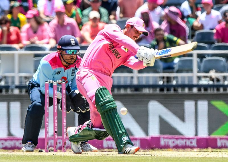 De Kock finished as the highest run-scorer in the recently-concluded ODI series against England