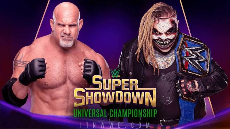 Will The Fiend versus Goldberg end up being a squash match.