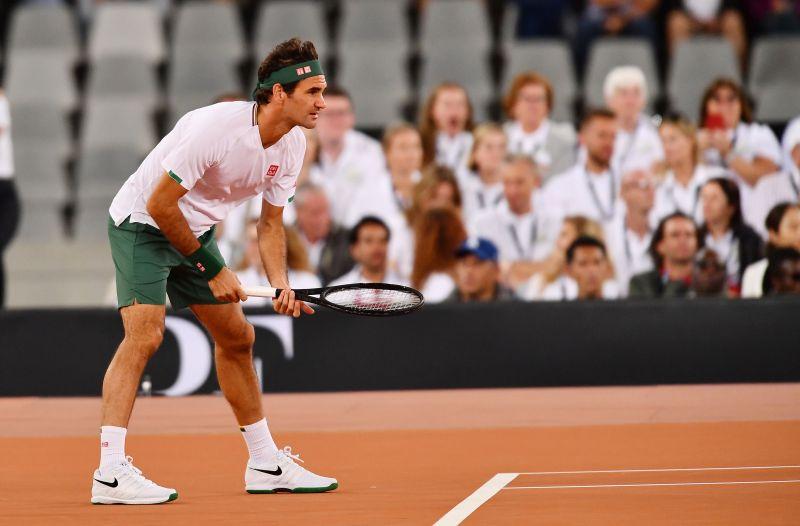 51,954 people in attendance saw a Roger Federer v Rafael Nadal match