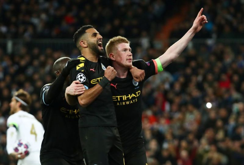 Manchester City recorded their first-ever Champions League win against Real Madrid on Wednesday