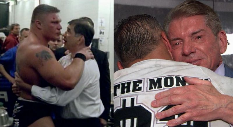 Two memorable backstage WrestleMania moments