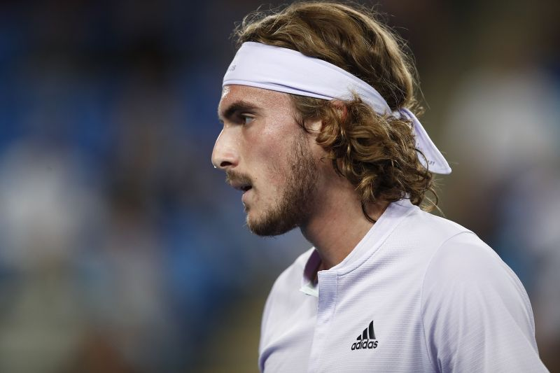 Stefanos Tsitsipas is the second seed in this year