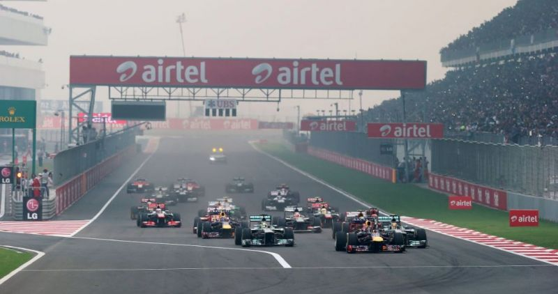 Red Bull won all the 3 F1 races held at the Buddh International Circuit (BIC)
