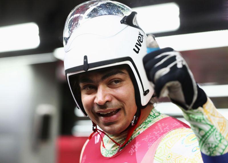 Luge racer Shiva Keshavan