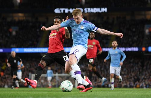 De Bruyne has been involved in 22 Premier League goals for Manchester City this season.