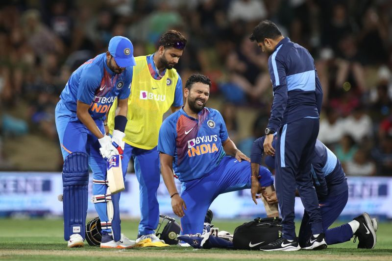 End of the trip for Rohit Sharma.