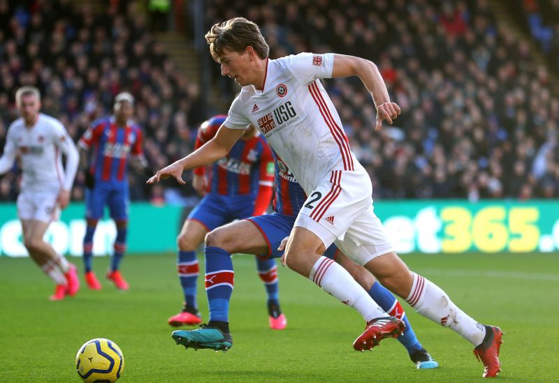 Crystal Palace and Sheffield United in action at Selhurst Park