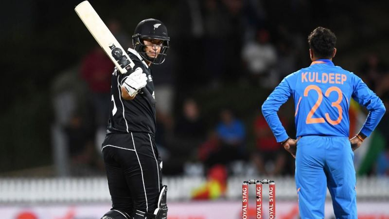 Ross Taylor hit a magnificent unbeaten 109(84) with his hundred coming in just 73 balls