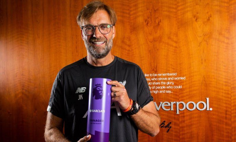 Jürgen Klopp has been having a stunning run of games with Liverpool