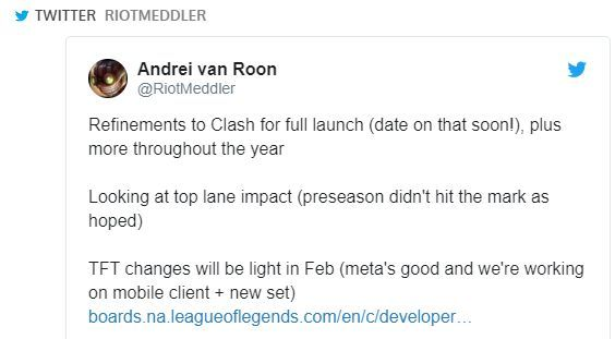 The plans for Riot