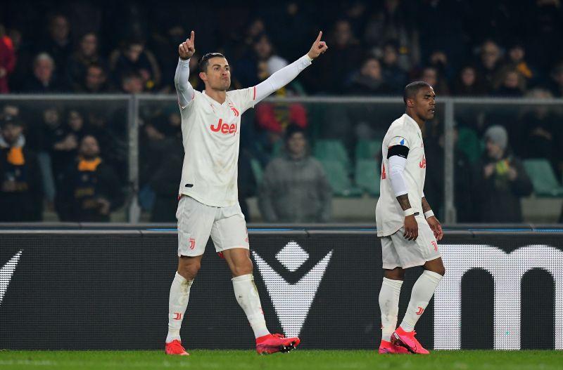 Cristiano Ronaldo scored in his 11th consecutive Serie A game