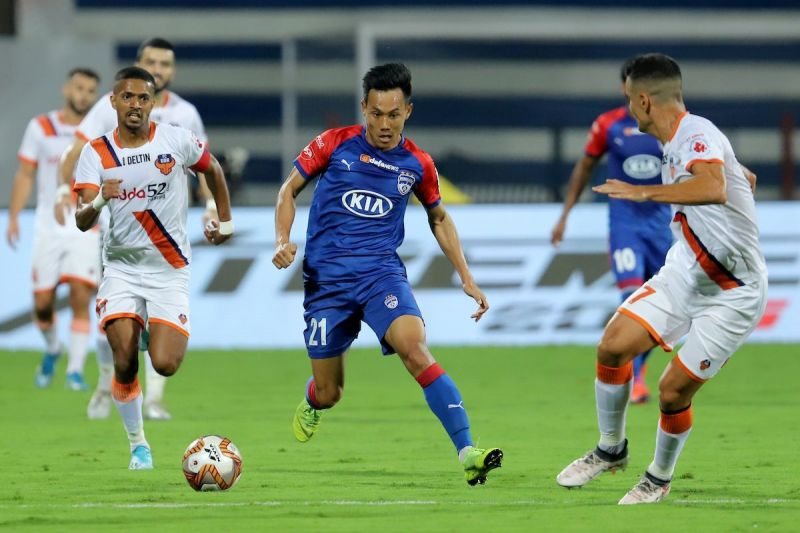 Udanta Singh has managed only one goal in this season of ISL
