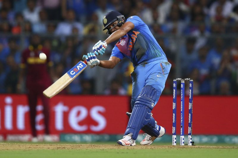 Rohit Sharma in full flow