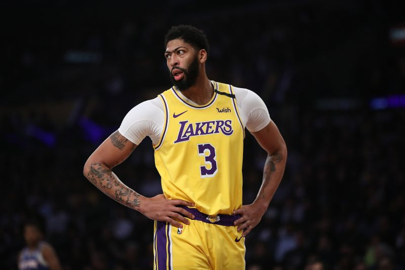 Anthony Davis was selected first by his Laker teammate