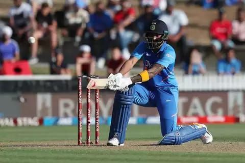 KL Rahul guided India to a decent total with his 88* from 55 balls.