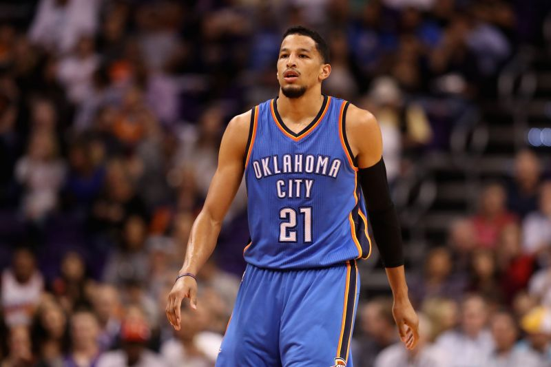 Andre Roberson has spent more than two years on the sidelines