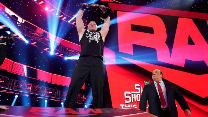 Paul Heyman proposed a highly unlikely scenario where Ricochet defeats Brock Lesnar!