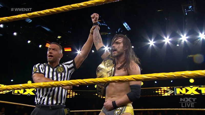 Is this the last time we see Adam Cole as the NXT Champion?