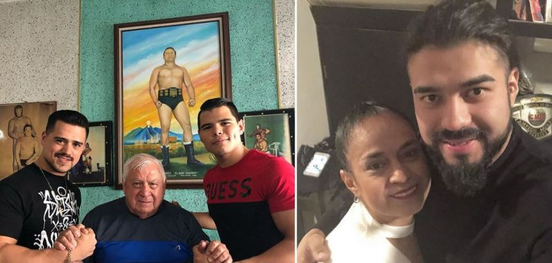 Did you know that these stars came from a long line of wrestlers in their own family?