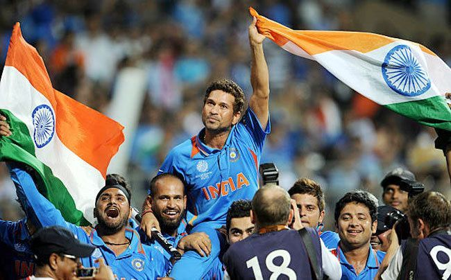 This moment where Sachin is