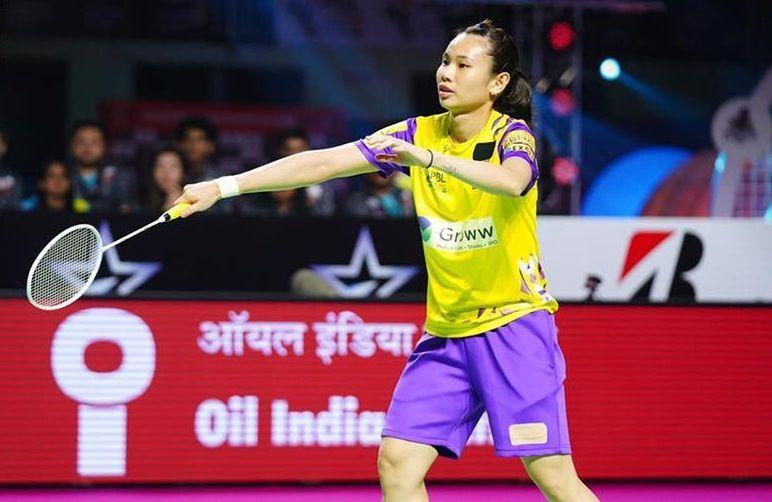 Tai Tzu Ying in action for Bengaluru Blasters