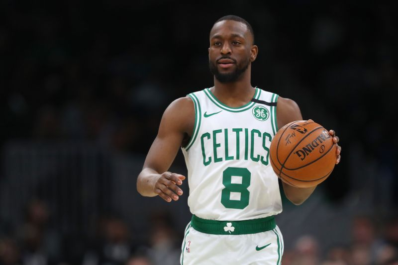 Kemba Walker is leading the way for the Boston Celtics