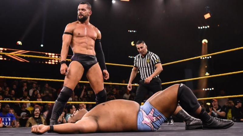 Balor could take the win with a clean victory
