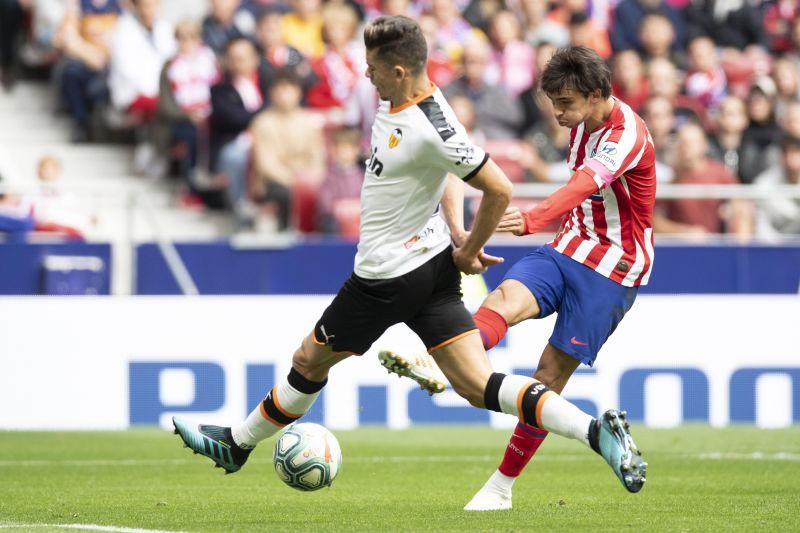 J oao Felix in action against Valencia
