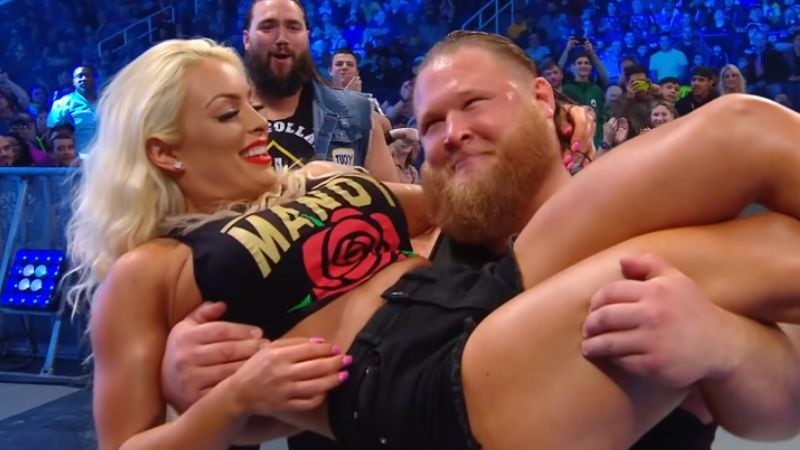 Otis and Mandy Rose are involved in a storyline on SmackDown