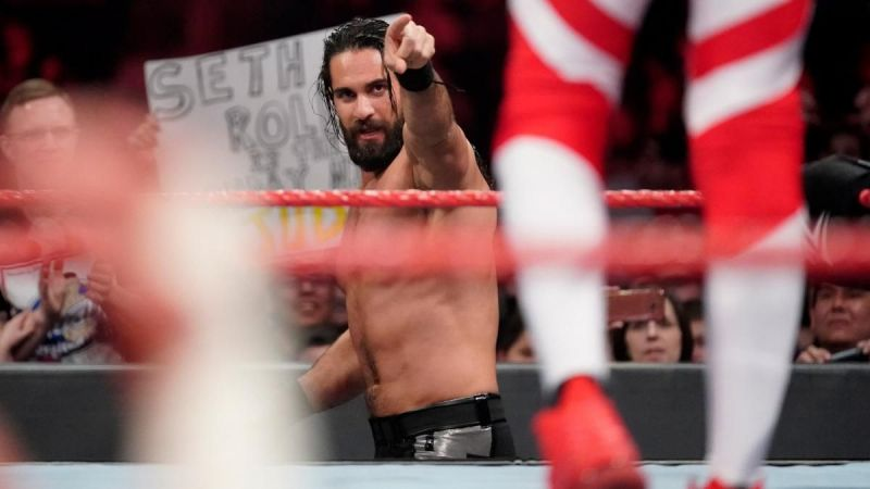 Seth Rollins had his hands full on this week