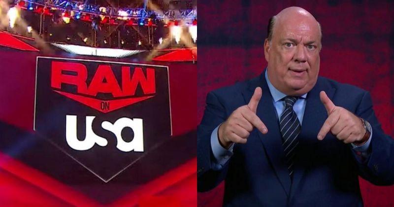 RAW Stage/Paul Heyman.