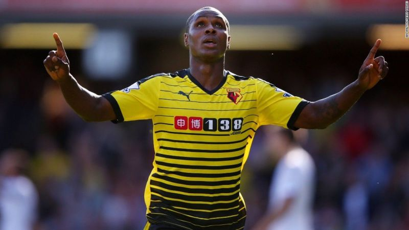 Ighalo joined Watford in 2014 and played a key role in Watford