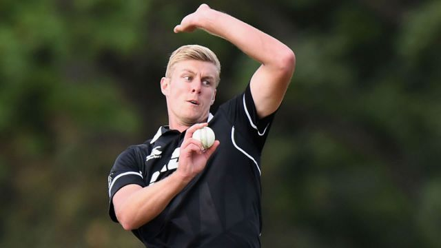 New Zealand has picked an uncapped player in Kyle Jamieson