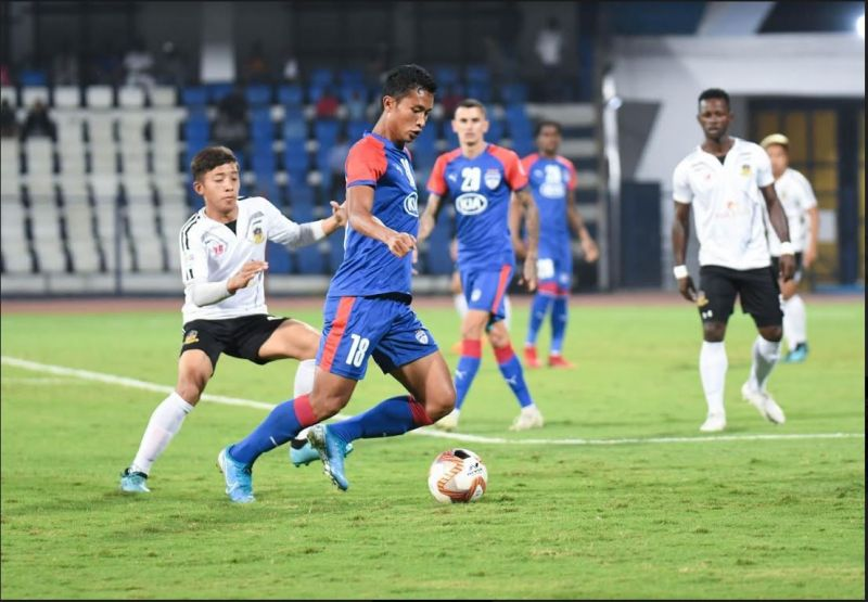 Semboi Haokip ecame the first ever player to register hat-tricks in the ISL, I-League and the AFC Cup